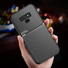 Load image into Gallery viewer, Galaxy Note 9 Carbon Fiber Twill Pattern Soft TPU Case
