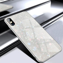 Load image into Gallery viewer, iPhone XS Max Dream Shell Series Textured Marble Case