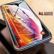 Load image into Gallery viewer, Baseus ® iPhone XS Max Full Coverage Curved Tempered Glass