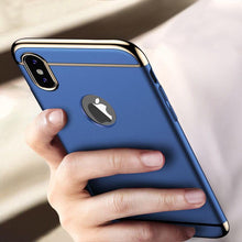 Load image into Gallery viewer, iPhone XS Max Luxury Electroplating Matte Case