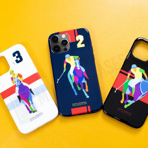 iPhone 12 Pro Max Santa Barbara Polo Racquet Jockey Series Case