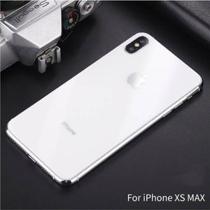 iPhone X Series (3 in 1 Combo) Back Tempered Glass + Front Tempered Glass + Camera Lens Guard
