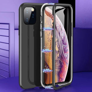 iPhone 11 Series Electronic Auto-Fit Magnetic Glass Case