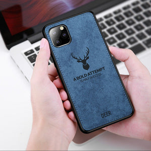 iPhone 11 Series Deer Pattern Inspirational Soft Case