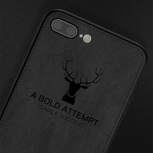Load image into Gallery viewer, iPhone 8 Plus Deer Pattern Inspirational Soft Case