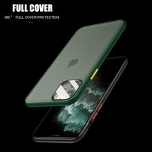 Load image into Gallery viewer, iPhone 11 Series Shockproof Matte Case With Camera Lens Guard