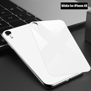iPhone X Series Back Tempered Glass
