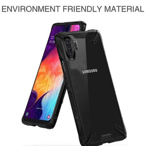 Rzants ® Galaxy Note 10 plus Armour Transparent Case