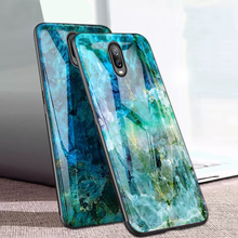 Load image into Gallery viewer, OnePlus 6T Soothing Sea Pattern Marble Glass Back Case