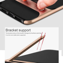 Load image into Gallery viewer, OnePlus 6T Silicone Bracket Dual Hybrid Kickstand Case