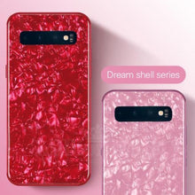 Load image into Gallery viewer, Galaxy S10 Dream Shell Textured Marble Case
