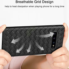 Load image into Gallery viewer, Henks ® Galaxy S10 Ultra-thin Grid Weaving Case
