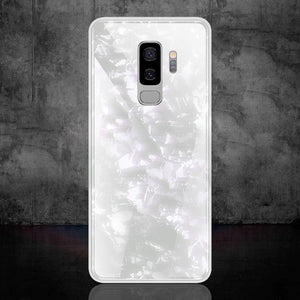 Galaxy S9 Plus Dream Shell Textured Marble Case