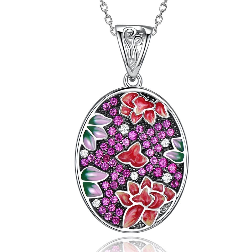 Load image into Gallery viewer, Colorful Enamel Necklace