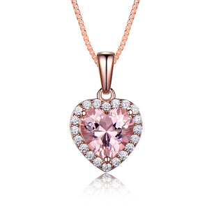 Load image into Gallery viewer, Morganite Pendant