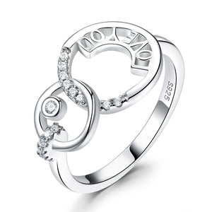LOVE YOU Letter Ring