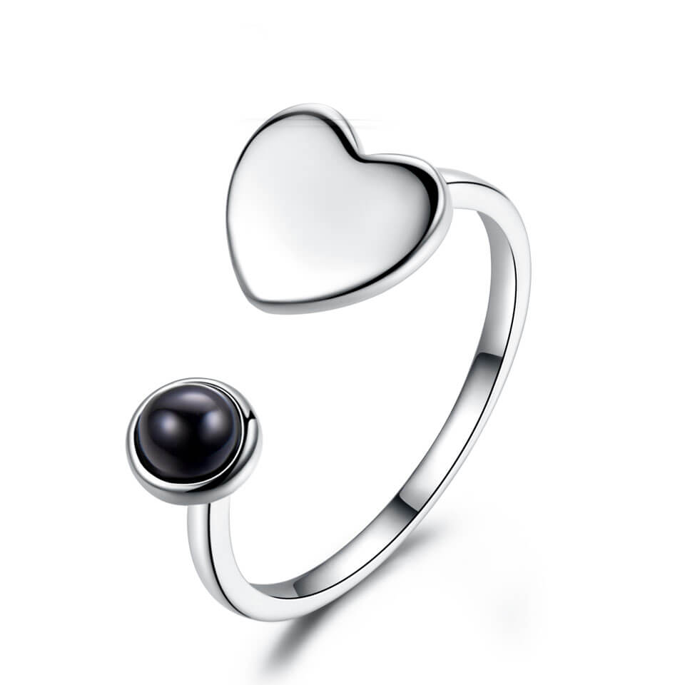 Load image into Gallery viewer, Heart Love Adjustable Ring