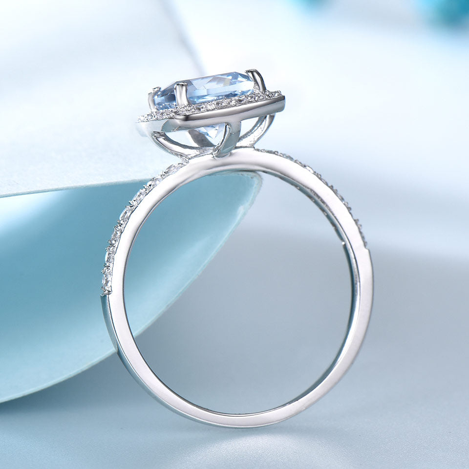 Load image into Gallery viewer, Aquamarine Ring
