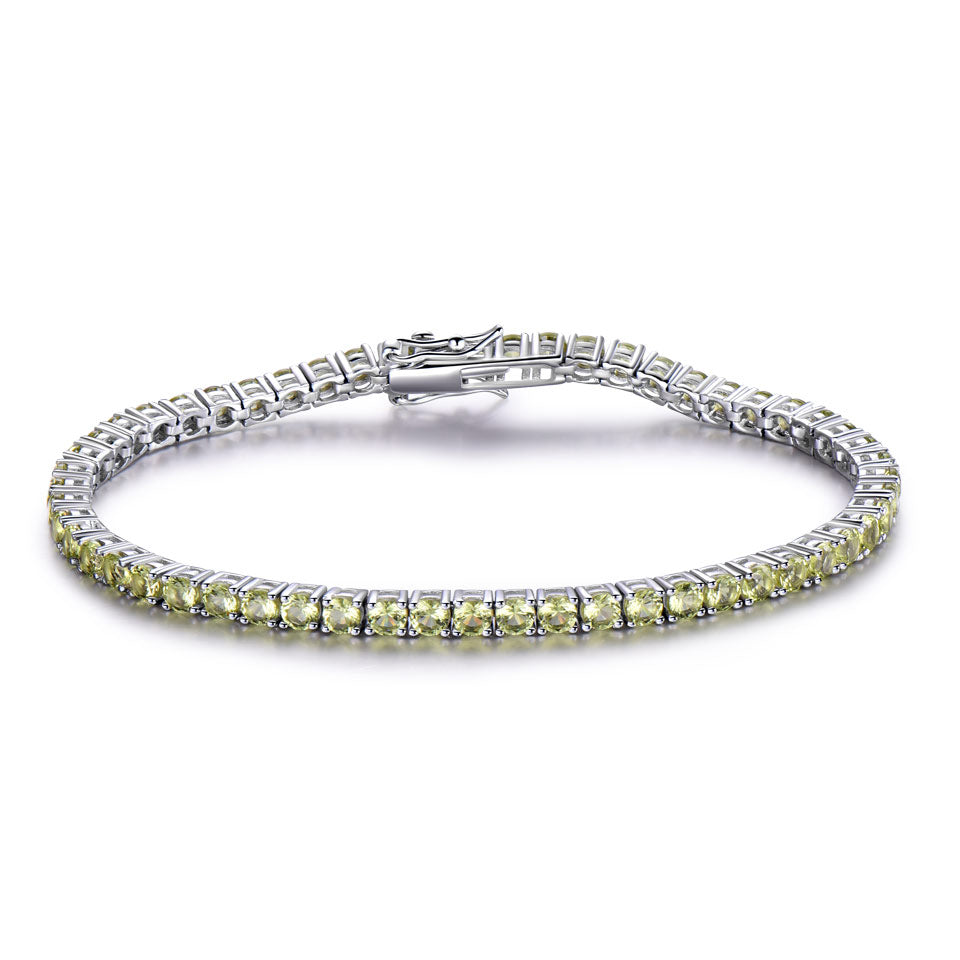 Load image into Gallery viewer, Peridoct bracelet