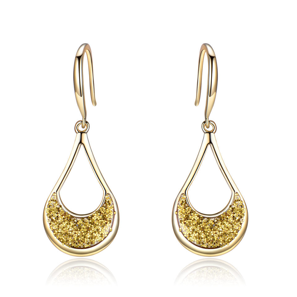Load image into Gallery viewer, Yellow Drop Earrings