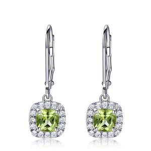 Peridot Earrings Long Earrings