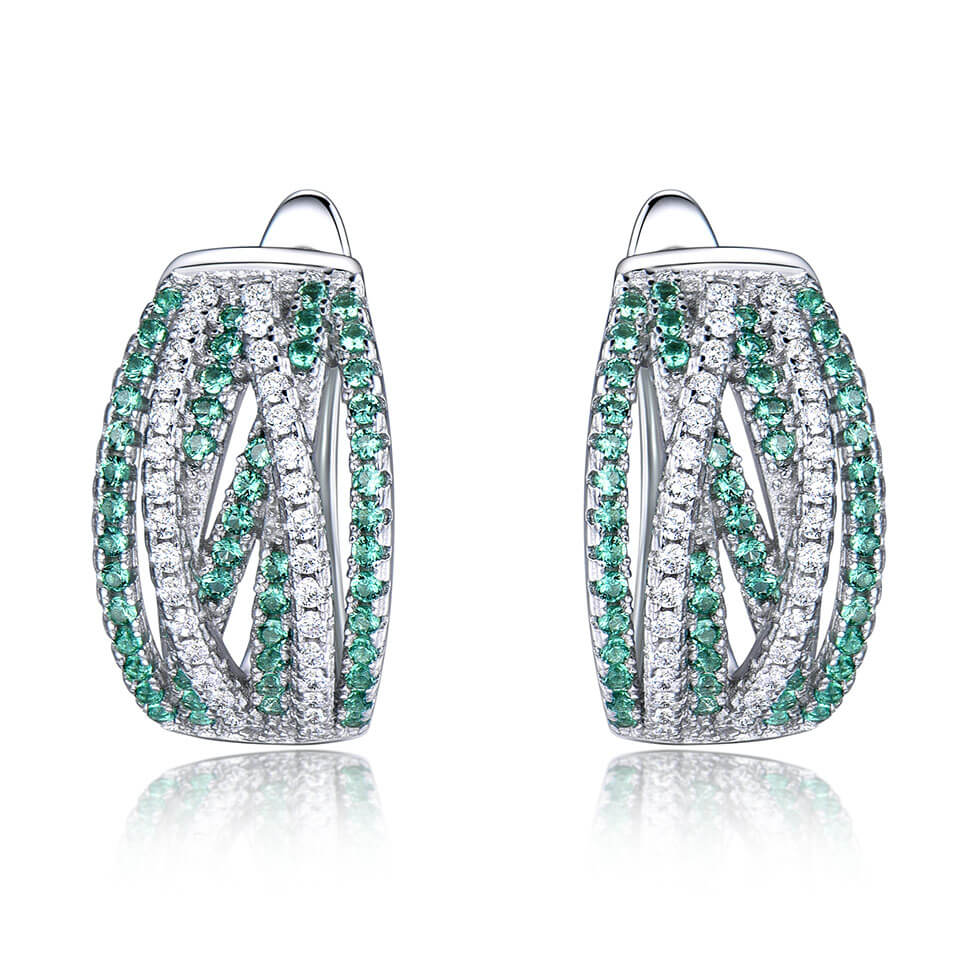 Rendy Emerald Earrings