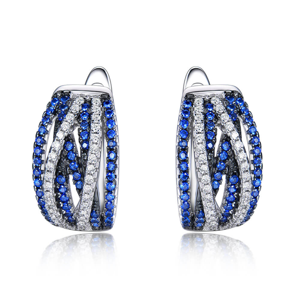 Rendy Sapphire Earrings