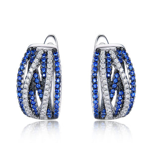 Load image into Gallery viewer, Rendy Sapphire Earrings