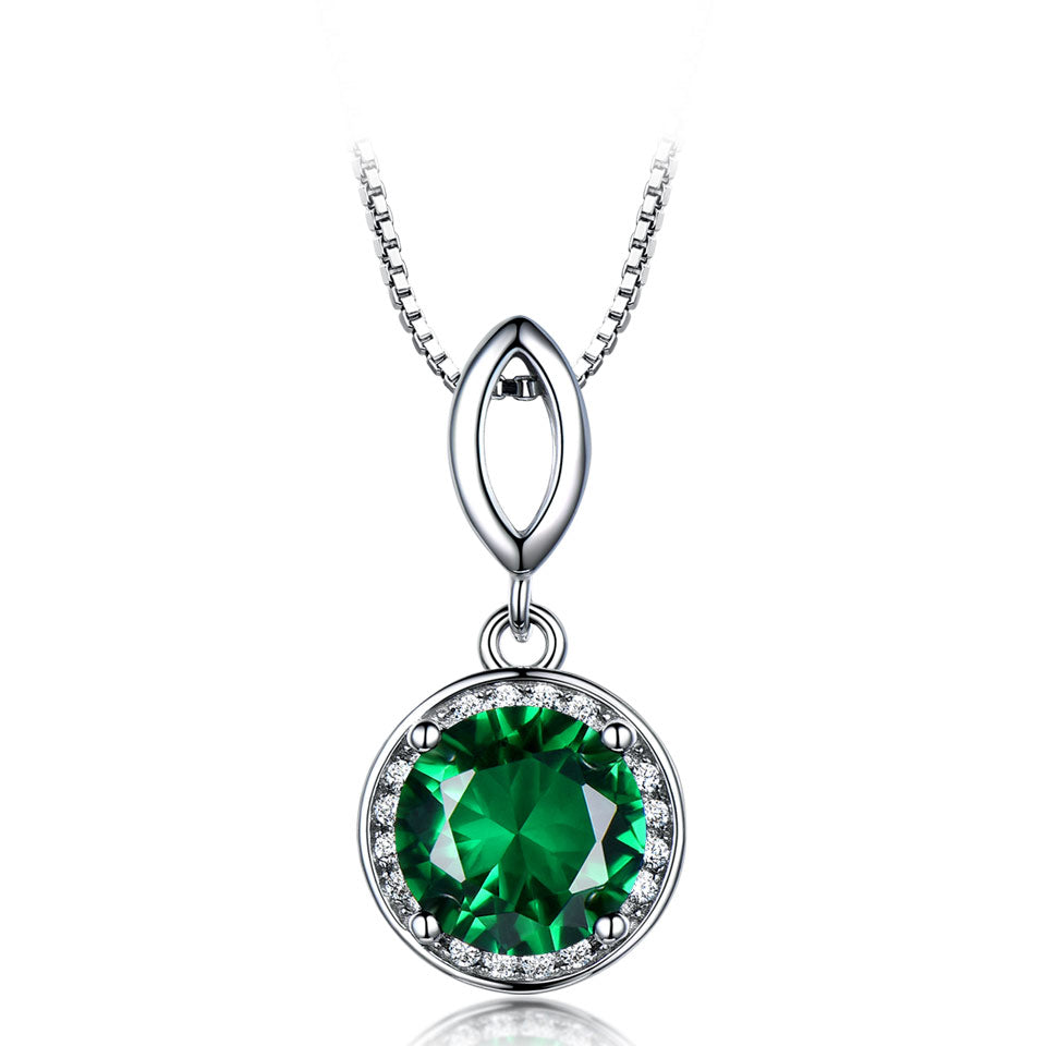 Load image into Gallery viewer, Nano Emerald Pendant