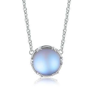 Load image into Gallery viewer, Silver Aurora Pendant