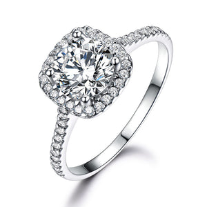Load image into Gallery viewer, Cubic Zircon Round Ring