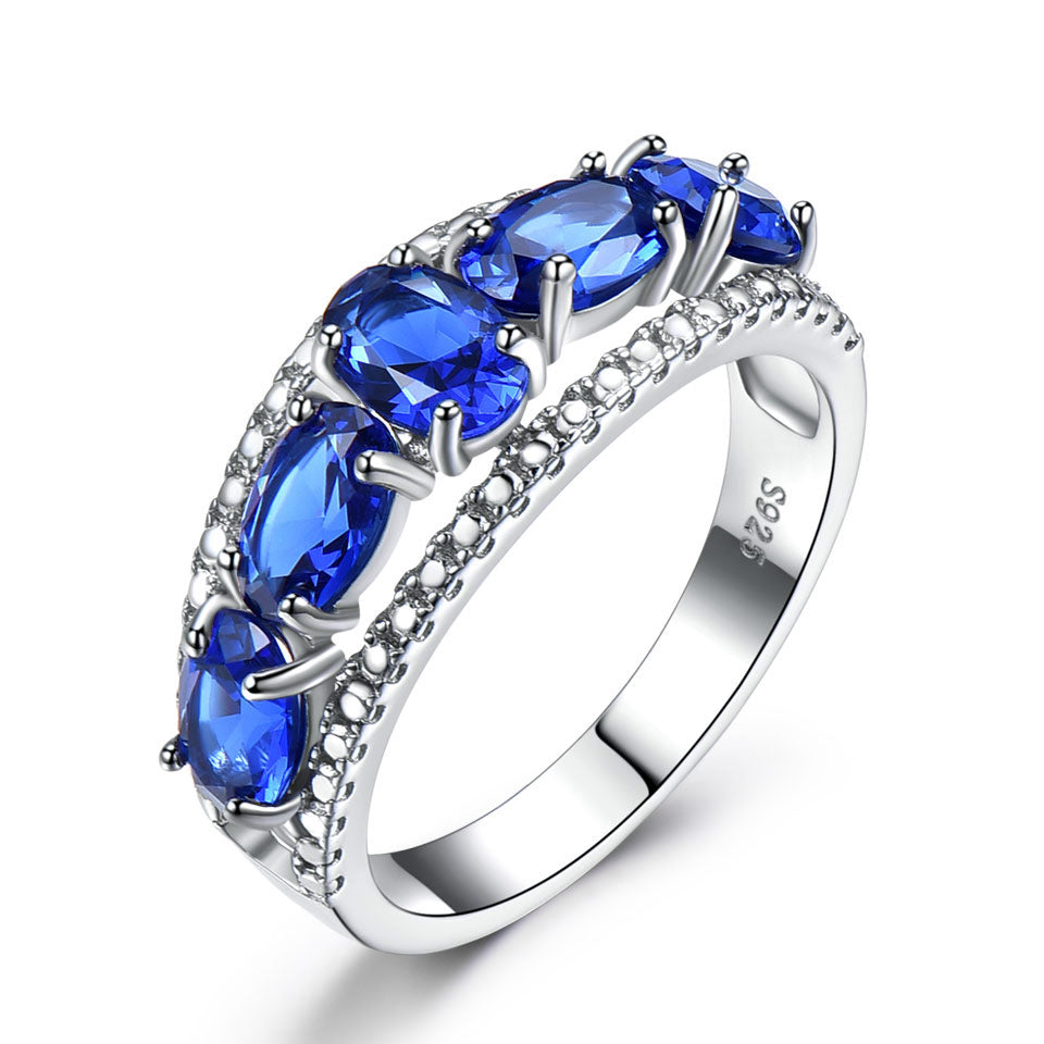 Five Sapphire Ring