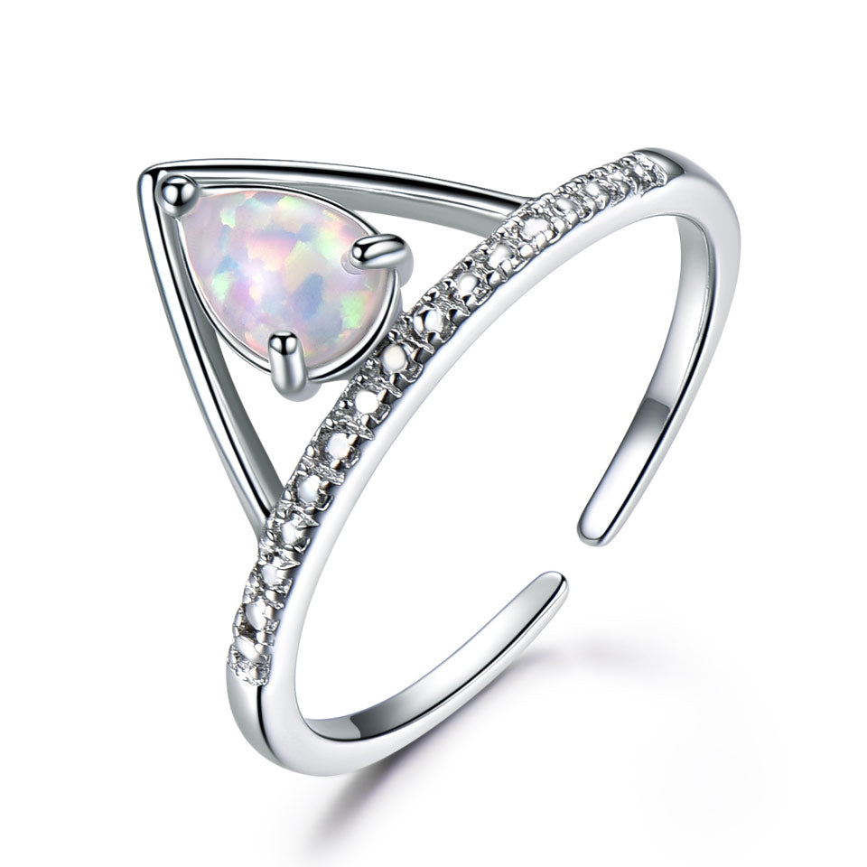 Load image into Gallery viewer, OPAL Gemstone Ring