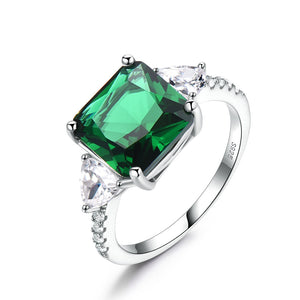 Square Green Ring