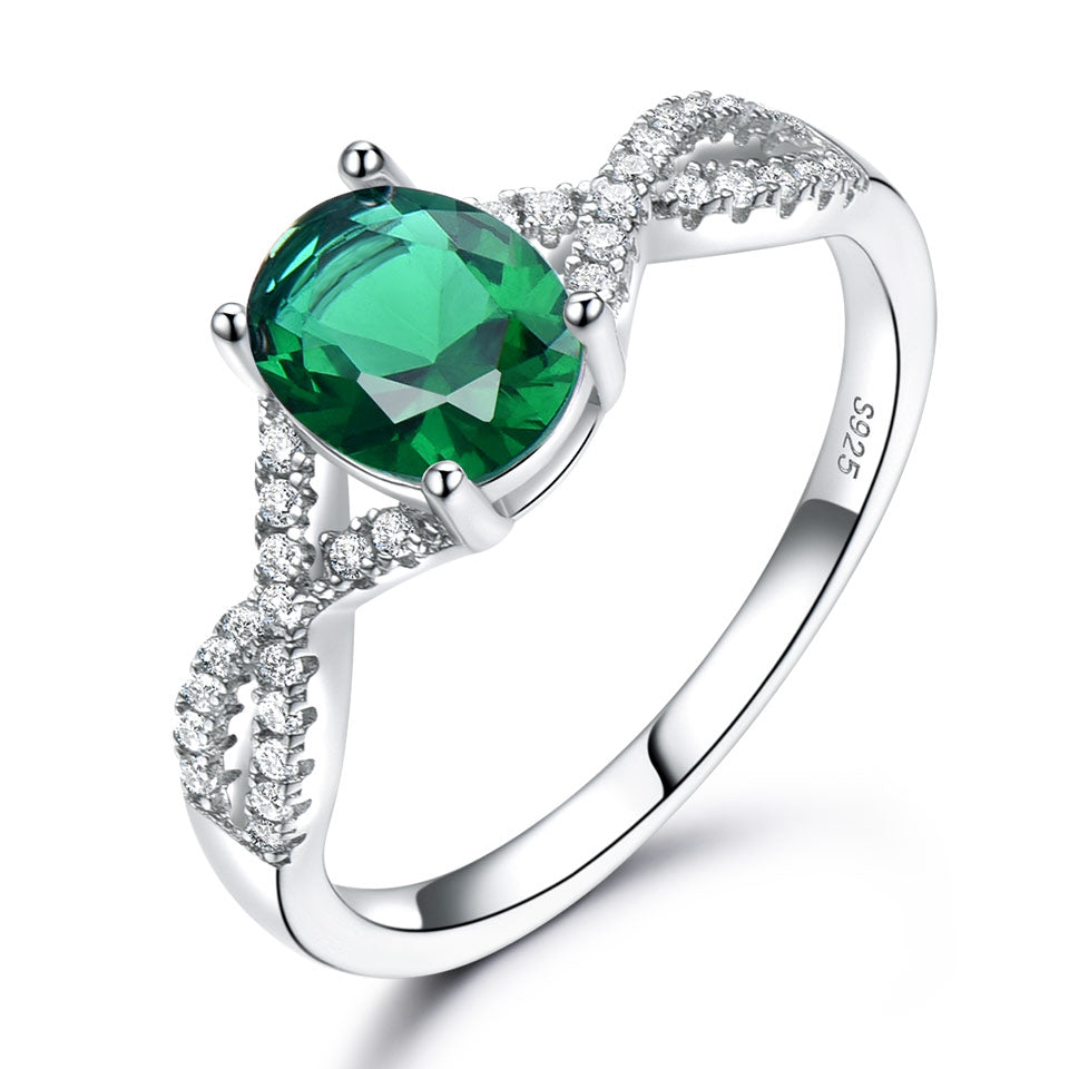 Romantic Emerald Ring