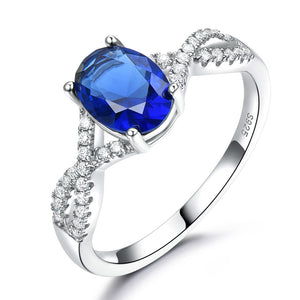 Load image into Gallery viewer, Romantic Sapphire Ring