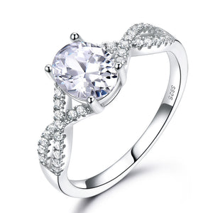 Romantic Zircon Ring