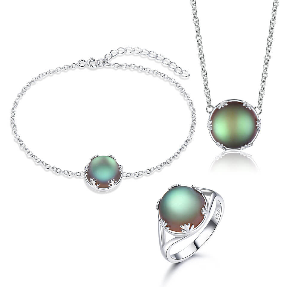 Aurora Stone Jewelry Set
