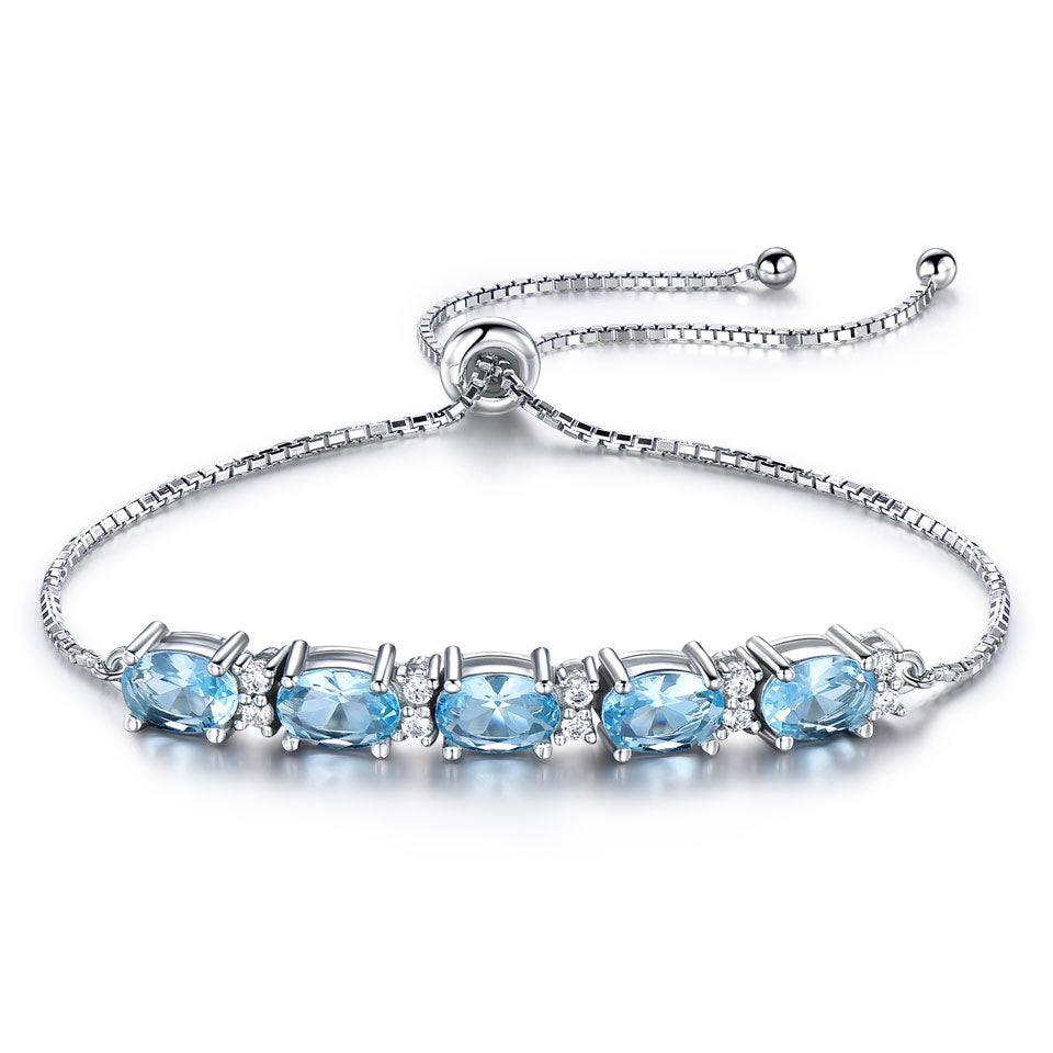 Load image into Gallery viewer, Natural Topaz Bracelet