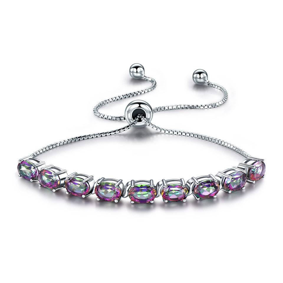 Load image into Gallery viewer, Mystic Topaz Bracelet