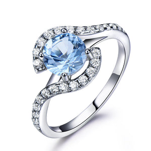 Load image into Gallery viewer, Elegant Topaz Ring