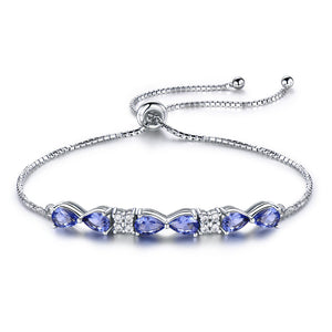 Load image into Gallery viewer, Nano Tanzanite Bracelet