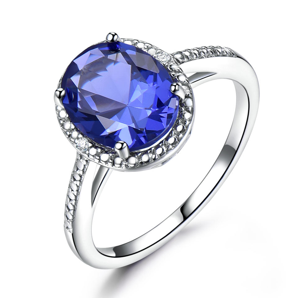 Luxury Tanzanite Ring
