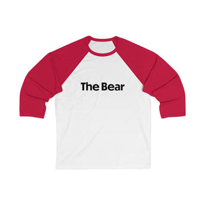 Enneagram 'The Bear' Type 8 With A 9 Wing -  Unisex 3/4 Sleeve Baseball Tee