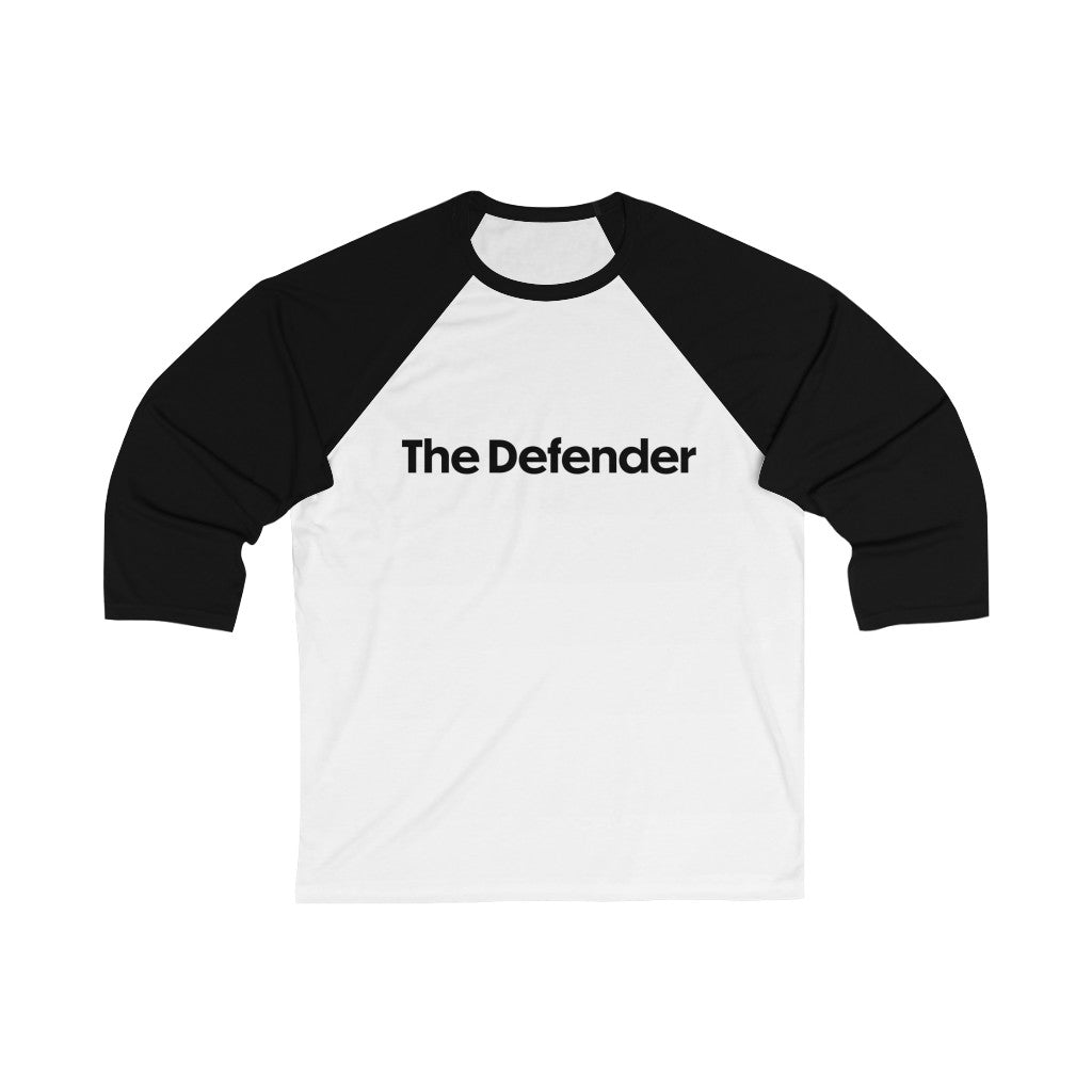 Enneagram 'The Defender' Type 6 With A 5 Wing - Unisex 3/4 Sleeve Baseball Tee