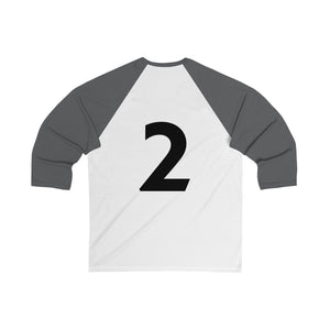 Enneagram 'The Helper' Type 2 - Unisex 3/4 Sleeve Baseball Tee