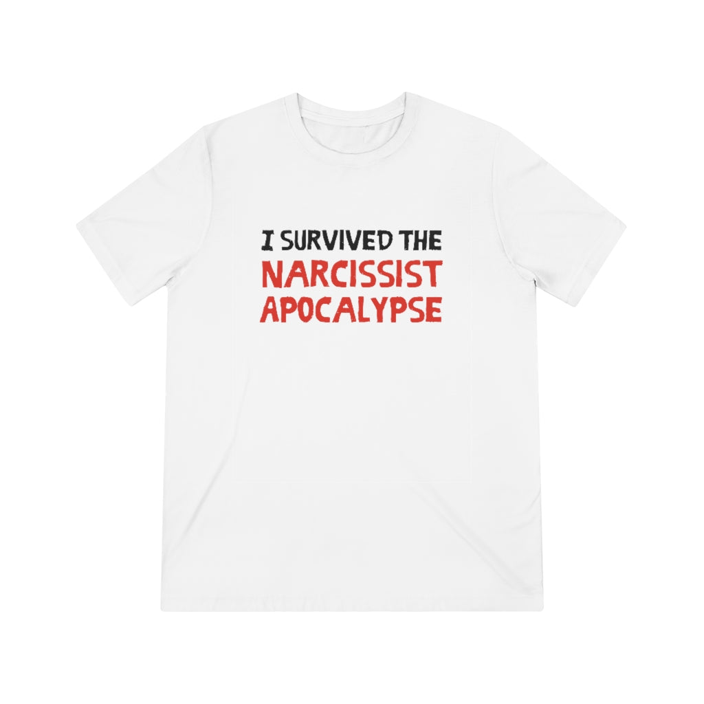 I Survived The Narcissist Apocalypse - Unisex Triblend Tee