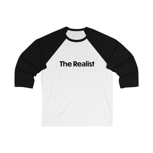 Enneagram 'The Realist' Type 7 With An 8 Wing - Unisex 3/4 Sleeve Baseball Tee