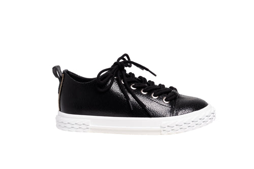 *NEW* Black Leather Sneakers