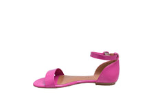 Load image into Gallery viewer, Hot Pink Patent, Flat Sandals